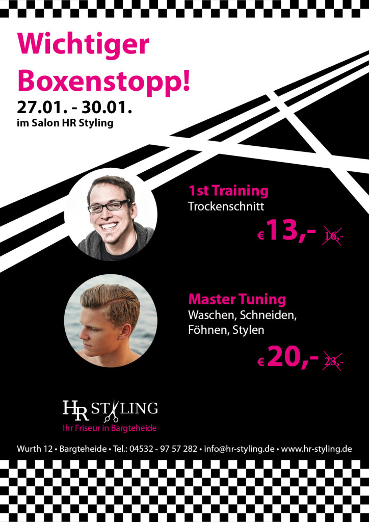 Boxenstopp bei HR Styling